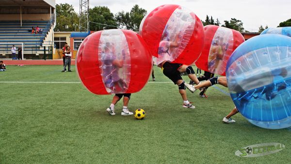 bubble football murcia