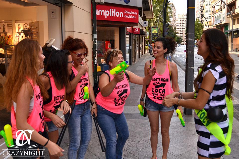 Gymkana de una despedida de soltera en Murcia