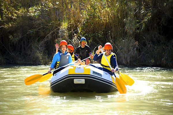 Multiaventura: Rafting, barranquismo, escalada...