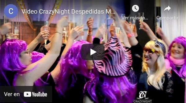 Video Despedidas Murcia CrazyNight